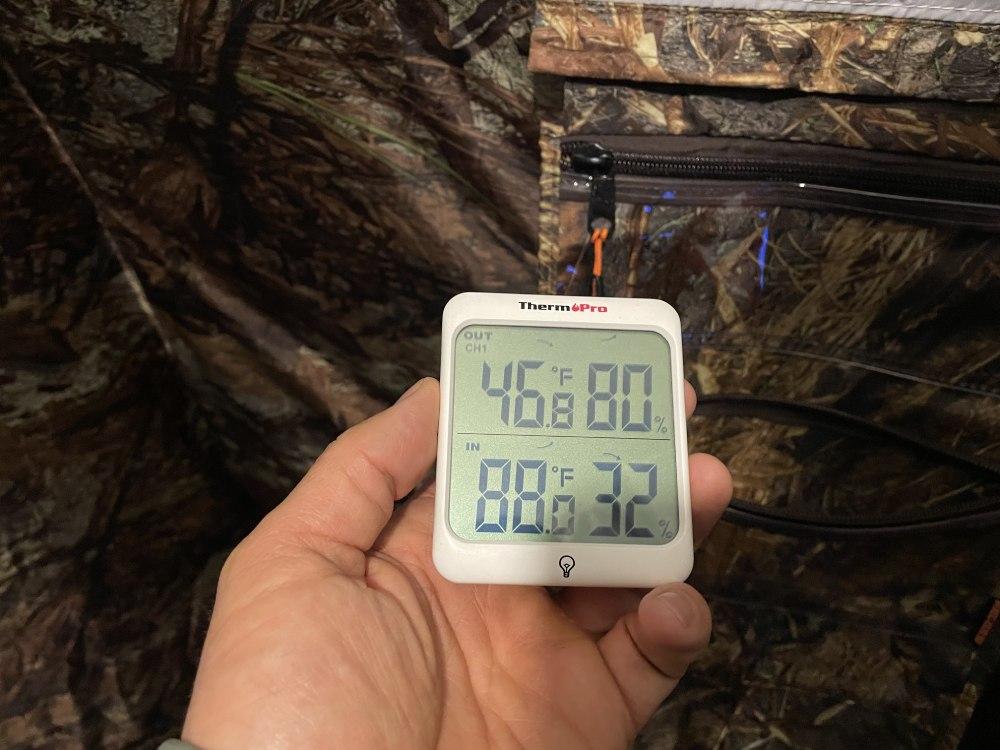 russian bear up-5 tent temperature