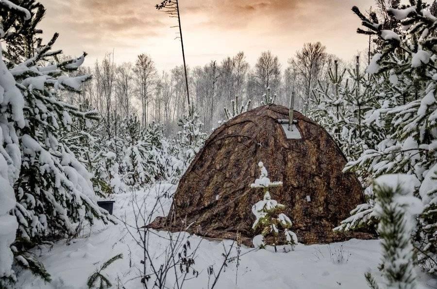 Russian Bear Tent Exterior