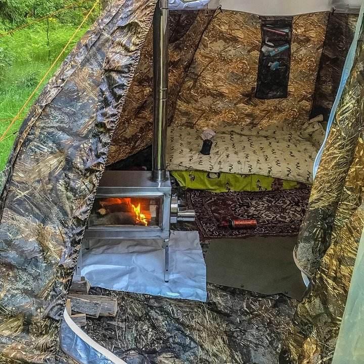 Russian Bear Tent interior