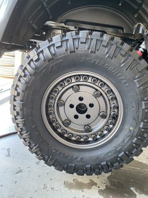 Nitto Grapplers on 2020 Jeep Gladiator