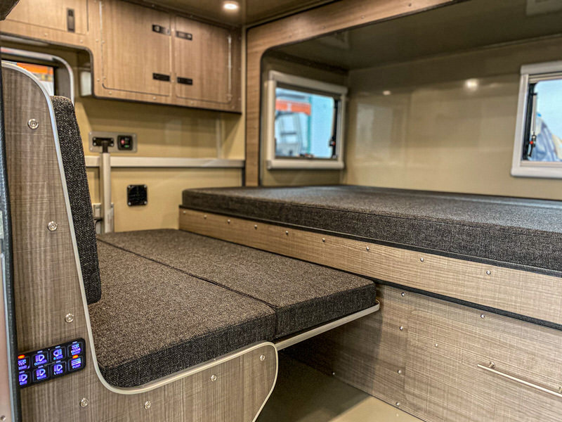 best off-road teardrop trailers interior